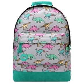 B-Stock Mi-Pac Mini Dinosaurs Backpack - Grey Multi (slight dirt mark)