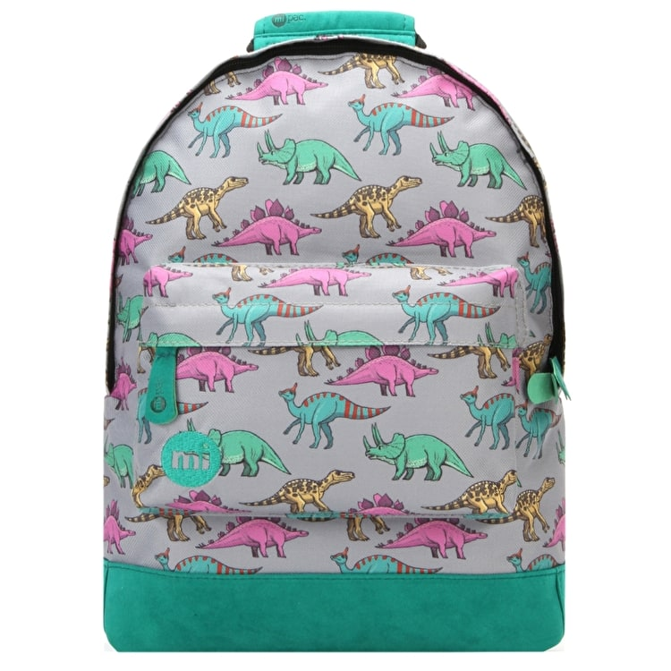 Mi-Pac Mini Dinosaurs Backpack - Grey Multi