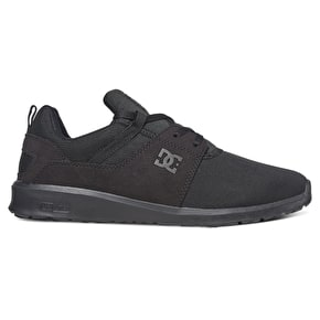 DC Heathrow Skate Shoes - Black/Black