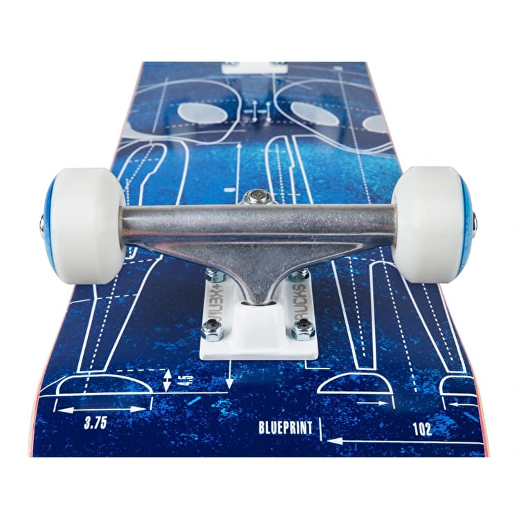 Alien Workshop Blueprint Complete Skateboard - 7.63""