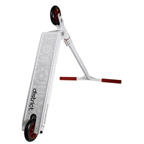 District S-Series Custom Scooter - White/Red