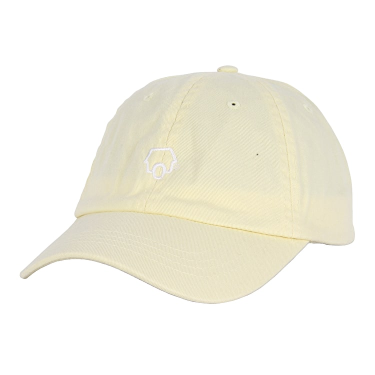 SkateHut 6 Panel Dad Cap - Pastel Lemon