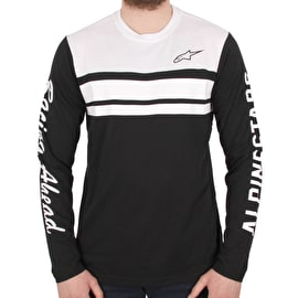 Alpinestars 2 Stroke Long Sleeve Knit - Black