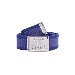 Diamond OG Logo Clamp Belt - Navy