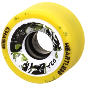 Heartless 59mm Roller Derby Wheels - Chaser 92A (4pk)