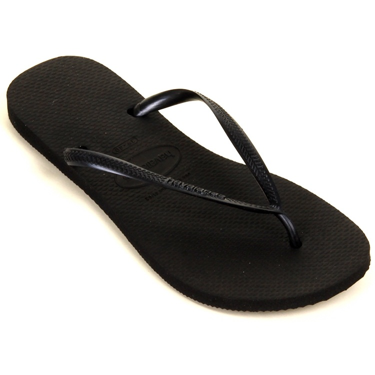 Havaianas Ladies Slim - Black