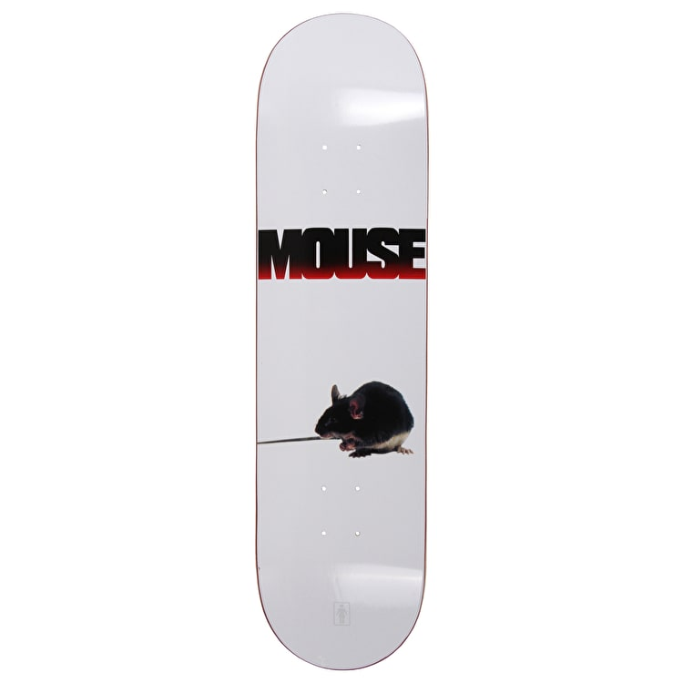 Girl Films  Mouse Skateboard Deck 8.25""