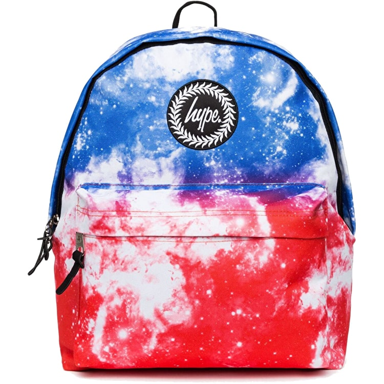 Hype Fade Acid Space Backpack - Blue/Red