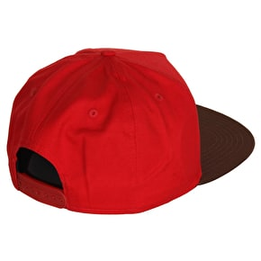 Hype Script Cap - Red/Yellow/Brown