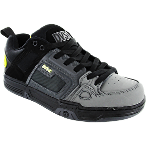 DVS Comanche Shoes - Grey/Black/Lime UK Size 8 (B-Stock)