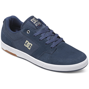 DC Nyjah Shoes - Navy/Caramel