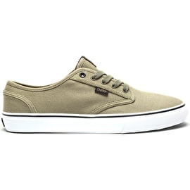 DVS Rico CT Skate Shoes - Khaki/White/Canvas