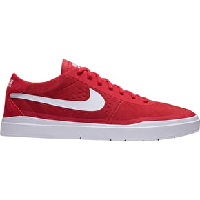 Nike SB Bruin Hyperfeel Shoes - University Red/White