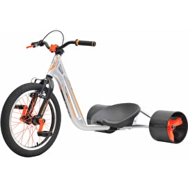 Triad Counter Measure 3 Drift Trike - Silver/Orange