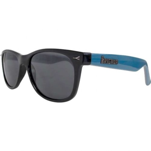 Image of Brigada Terry Kennedy Pro Sunglasses - Black/Teal