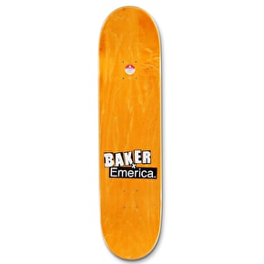 Baker x Emerica Made Figgy Skateboard Deck - 8
