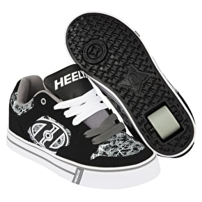 Heelys Motion Plus - Black/Grey/Electricity
