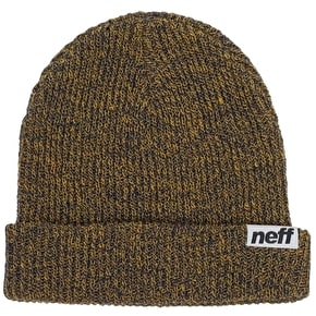 Neff Fold Heather Beanie - Blue/Gold