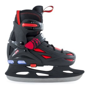 SFR Ice Skates - Eclipse Lights Black/Red