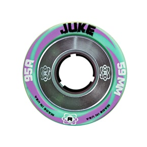 Atom Juke 59mm Alloy Quad Roller Derby Wheels - 95A (4pk)