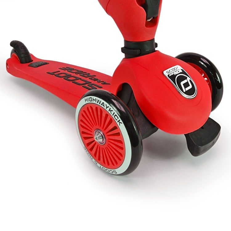 Scoot And Ride Highwaykick Complete Scooter - Red