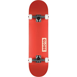 Globe Goodstock Complete Skateboard - Red - 7.75