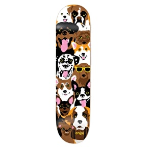 Enjoi Skateboard Deck - Dog Collage R7 Multi 7.75