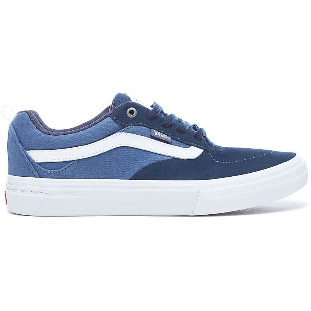 White And Blue Tony Hawk Shoes