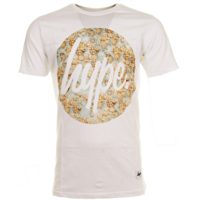Hype Vintage Map Circle T-Shirt