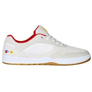 eS Swift Skate Shoes - White/Red