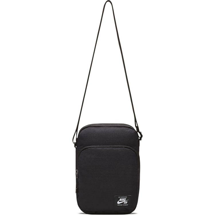 Nike SB Heritage Shoulder Bag- Black/Black/White