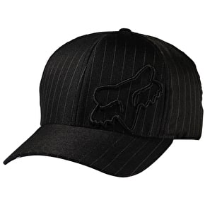 Fox Flexfit 45 Cap - Black Pinstripe
