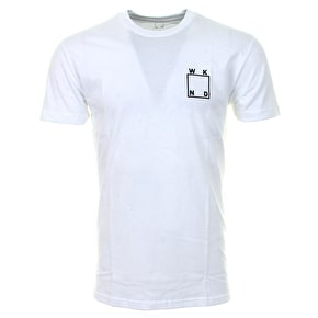 WKND Logo T-Shirt - White/Black