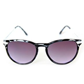 The Happy Hour Dollin Sunglasses - Les Chandelles Black/White Tortoise
