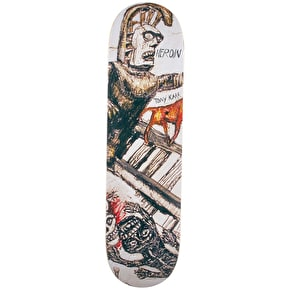 Heroin Enemy Ritual Skateboard Deck - Karr 8.38