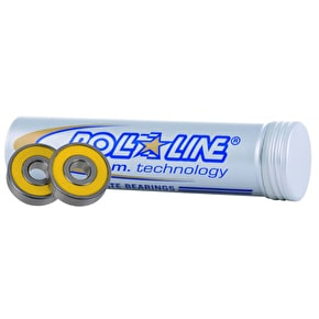 Roll Line 8mm Speed Race Abec 9 Bearings (16pk)