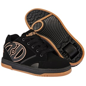 B-Stock Heelys Propel 2.0 - Black/Gum - UK 4 (Repackaged)