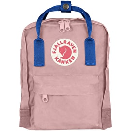 Fjallraven Kanken Mini Backpack - Pink/Air Blue
