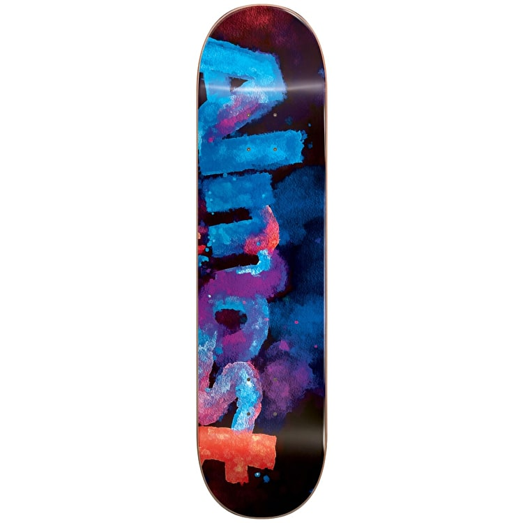 Almost Blotchy Logo Skateboard Deck - Blue 7.5""
