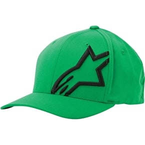 Alpinestars Corp Shift 2 Flexfit Cap - Green/Black