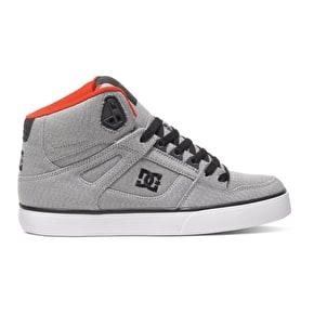 DC Spartan High WC TX SE Shoes - Grey/Red