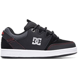 DC Syntax Skate Shoes - Black/Red/White