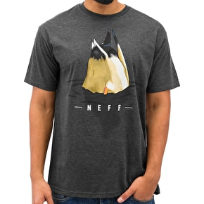 Neff Diver T-Shirt - Charcoal Heather