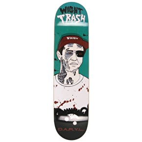 Wight Trash Zombie Skateboard Deck - D.A.R.Y.L. 8.0