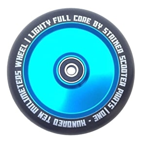 Striker 110mm Lighty Full Core Scooter Wheel - Blue