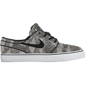Nike SB Zoom Stefan Janoski Prem Skate Shoes - Black/White