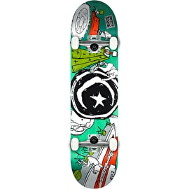 Foundation Star & Moon At Home Complete Skateboard - 8.25