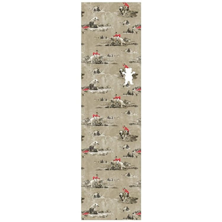 Grizzly Hunting Lodge Skateboard Grip Tape