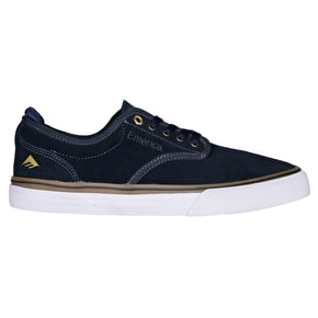 Emerica Wino G6 Skate Shoes - Navy/Gum/White