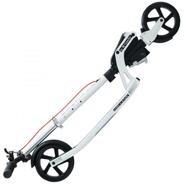 Globber One K Commuter Scooter - White